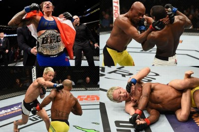 【UFC208】試合結果 憂流迦が届かず。初代女子フェザー級王者はデランダミー&アンデウソン再起戦飾る