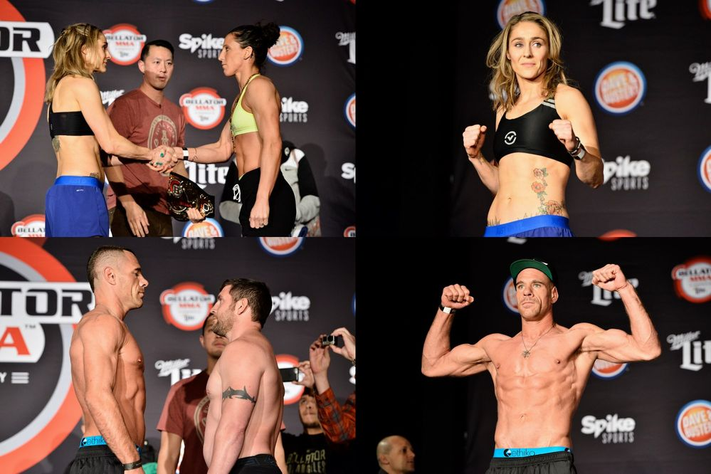 Bellator174 weigh-in
