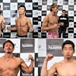 【Gladiator003】計量終了 44歳・寒川慶一、バキバキ。修斗と対戦――今村がオーバー
