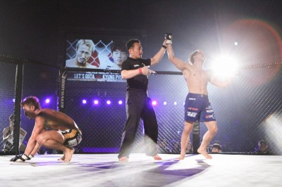【Gladiator003】レッツ豪太、韓国ライト級の新鋭に判定負け。宮城友一が来フライ級次期挑戦者に!!