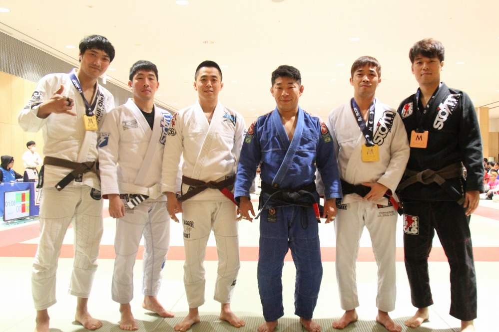 Korean BJJ team
