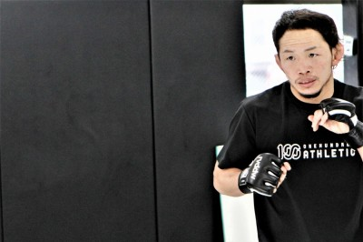 【Shooto】開戦直前、宇野薫 「僕にとっては一つの試合」