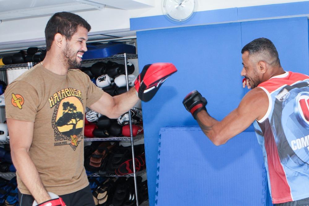 UFC212】レオ・サントスが柔道&...