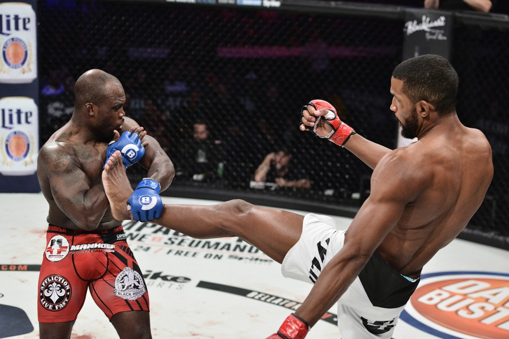 Melvin Manhoef vs Rafael Carvalho
