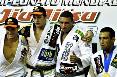 2003年ムンジアル無差別級決勝はホジャーとバッハ・ガチ対決で勝利。3位はカフェとヴェウドゥム!!(C)MMAPLANET