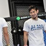 【Pancrase287】ハファエル・シウバの挑戦を受ける石渡伸太郎が公開練習「この試合のレベル見ておけよ」