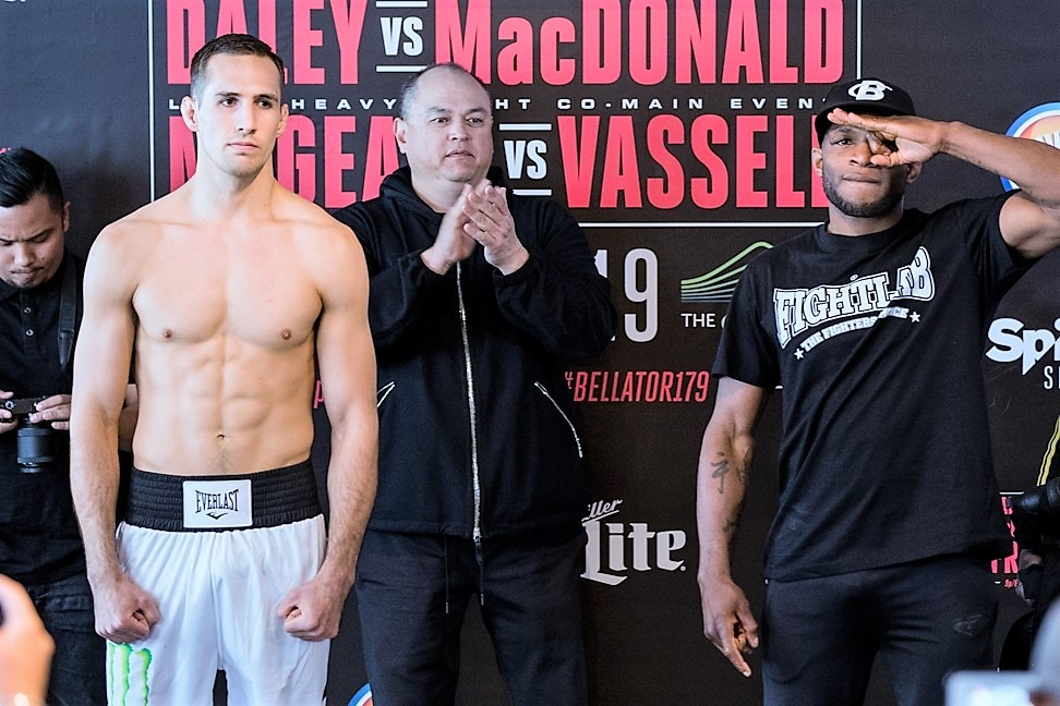 Rory MacDonald vs Paul Daley