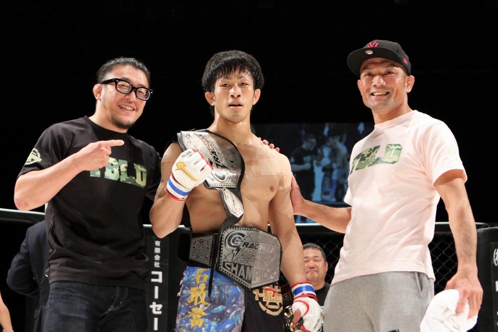 Sakamoto with T Blood