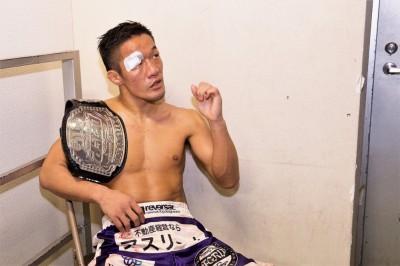 【Deep Cage】石司晃一を3-2で下し防衛成功。大塚隆史、試合後の談話──「折れない心で挑みました」