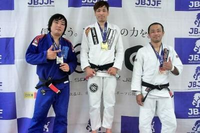 【JBJJF】九州オープン 黒帯ヘビー級で田村ヒビキこと、田村幸成が優勝