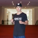 【RFC39】ライト級T中国予選決勝に出場、バオ・インカン「相手の得意なところを潰す」