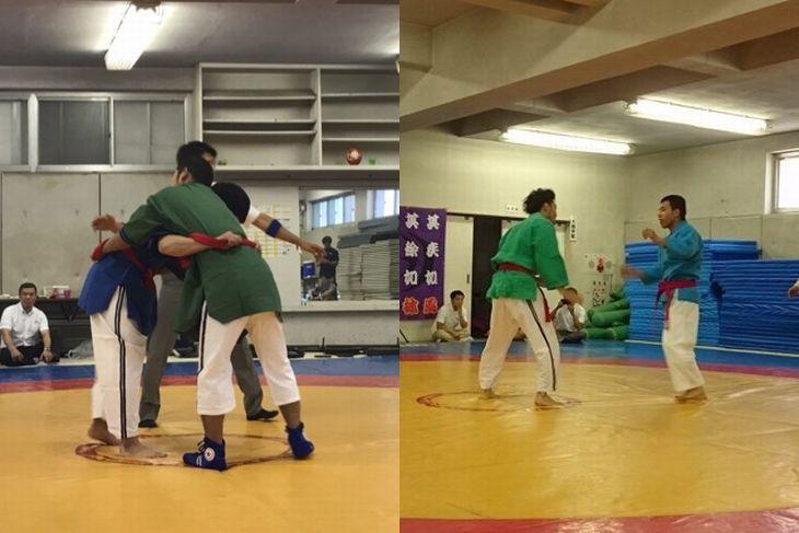 Belt wrestling & Kurash