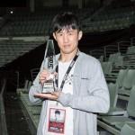 【RFC39】朝倉海にKO勝ち、ムン・ジェフン「早くタイトル戦に近づきたい」
