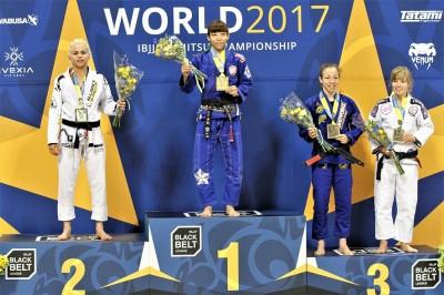 【WJJC2017】湯浅麗歌子がムンジアル黒帯3連覇。サトシは銀、橋本は銅メダル獲得!!