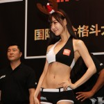 【Monday Ring Girl】ROAD FC27 in China