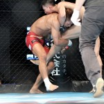 【HEAT40】想定外の組み力の持ち主キム・ソンギュを相手に組み勝った赤尾、RIZIN出場アピール
