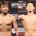 【UFN117】五味の出場が決定、対戦相手はもう一人のキム・ドンヒョン