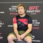 【UFC117】UFC日本大会に向け、五味隆典「ファンを裏切らない試合ができれば」