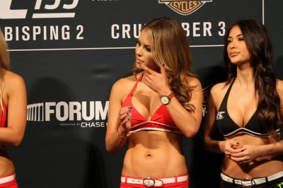 【Monday Ring Girl】UFC 199「Rockhold vs Bisping 2」