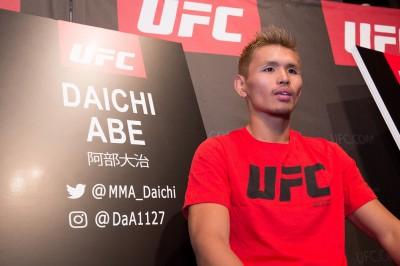 【UFN117】UFCデビュー戦を控えた阿部大治「12月31日のラスベガス大会を狙っている」