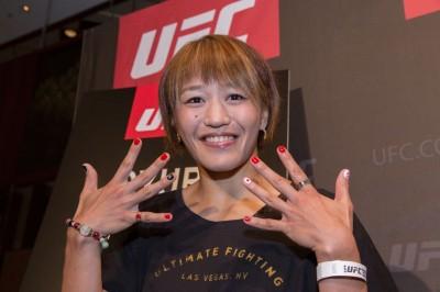 【UFN117】UFC初戦=ジョン・チャンミ戦へ、近藤朱里「勝った姿を見せたい」