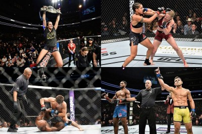 【UFC215】試合結果 ヌネス防衛。ドスアンジョス&セフード、スティーブンスがインパクト残す