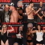 【Bellator185】計量終了 シュレメンコ「この拳で」血みどろの一戦に。ムサシ「僕は見せるよ」