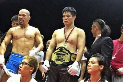 【WARDOG15】試合結果 キム・デファンが左フックで松井大二郎をKOしミドル級王者に