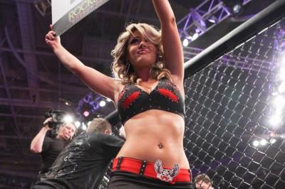【Monday Ring Girl】Strikeforce「Shamrock vs Diaz」