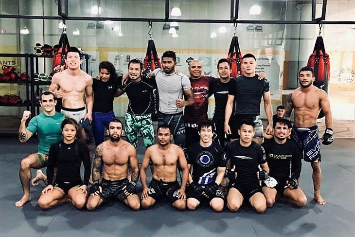 Aoki in Evolve MMA