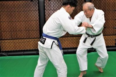 【Bu et Sports de combat】 仁木柔道。失われつつある技を伝える─04─喧嘩四つからの払い腰と隅返し