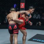 【ONE61】回転バック拳に右フック合わせ、ウェンが2階級同時戴冠。鈴木隼人は一本負け