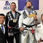 【JBJJF】第10回関西柔術選手権で、関根秀樹が2階級制覇