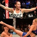 【UFC219】サイボーグに組み技、ホルムに接近戦があることを忘れてはいけない女子世界フェザー級戦