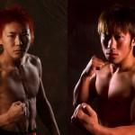 【Shooto】猿田への挑戦権を賭け、猿丸と村田一着がチャレンジャー決定戦