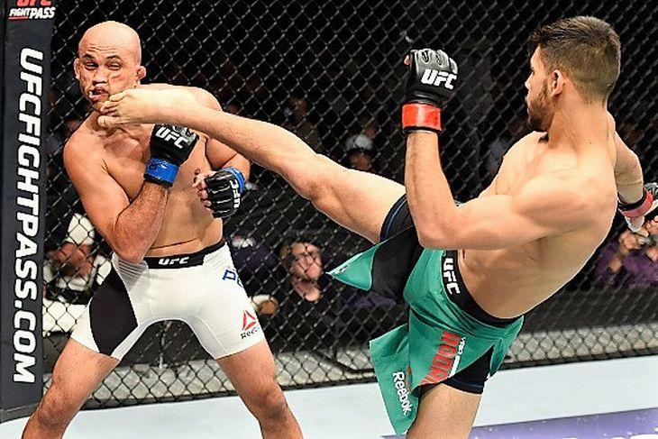 2017 in UFC