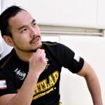 【Gladiator005】ライト級王座防衛戦で岸本泰昭と戦う濱村健─01─「関西で頑張ってきた人」