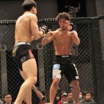 【Gladiator005】濱村健の挑戦、岸本泰昭─01─「本当に試合を受けてくれるのかなって」
