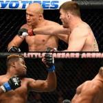 【UFC220】UFC世界ヘビー級戦、底が見えないガヌーの底力×ミオシッチMMAの神髄