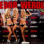【Monday Ring Girl】Strikeforce「Fedor vs Werdum」