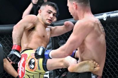 【LFA35】隻腕ファイター=ニック・ニューウェルが引退撤回。UFC目指し、カムバック