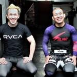 【ACB】ACBへ。田中路教が嶋田裕太との練習開始─03─「UFC王者になるためのACB」(田中)