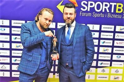 レワンドウスキー(右)とコバワルスキのKSW共同オーナー