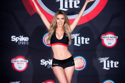 【Monday Ring Girl】Bellator181「Campos vs Girtz 3」