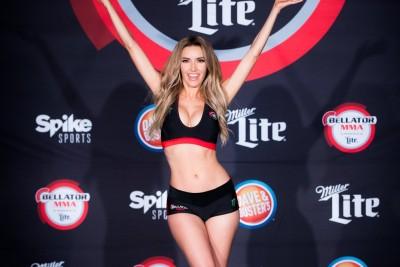 【Monday Ring Girl】Bellator181「Campos vs Girtz 3」