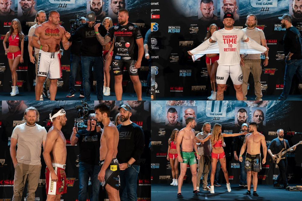 KSW44 weigh-in
