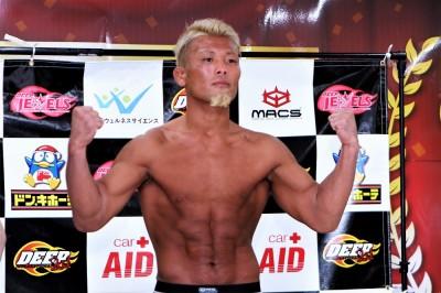 【DEEP84】デビューから11カ月、5連勝で宮崎直人と戦う武田光司―01―「泥臭さが僕の持ち味」