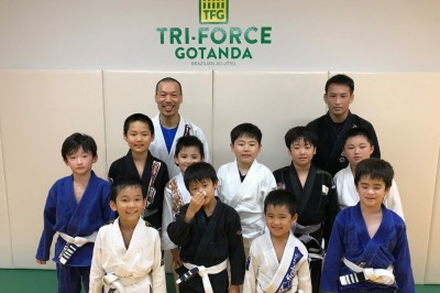 【JBJJF】東日本キッズ柔術選手権へ、トライフォース五反田・中山徹「他のスポーツへ行っても」
