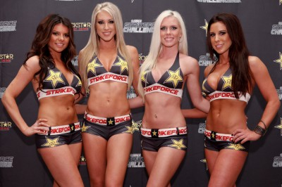 【Monday Ring Girl】Strikeforce Challengers