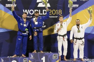 【WJJC2018】無差別級はブシェシャがレアンドロ・ロに勝利を譲り、大団円。メレガリはペナに一本勝ち!!